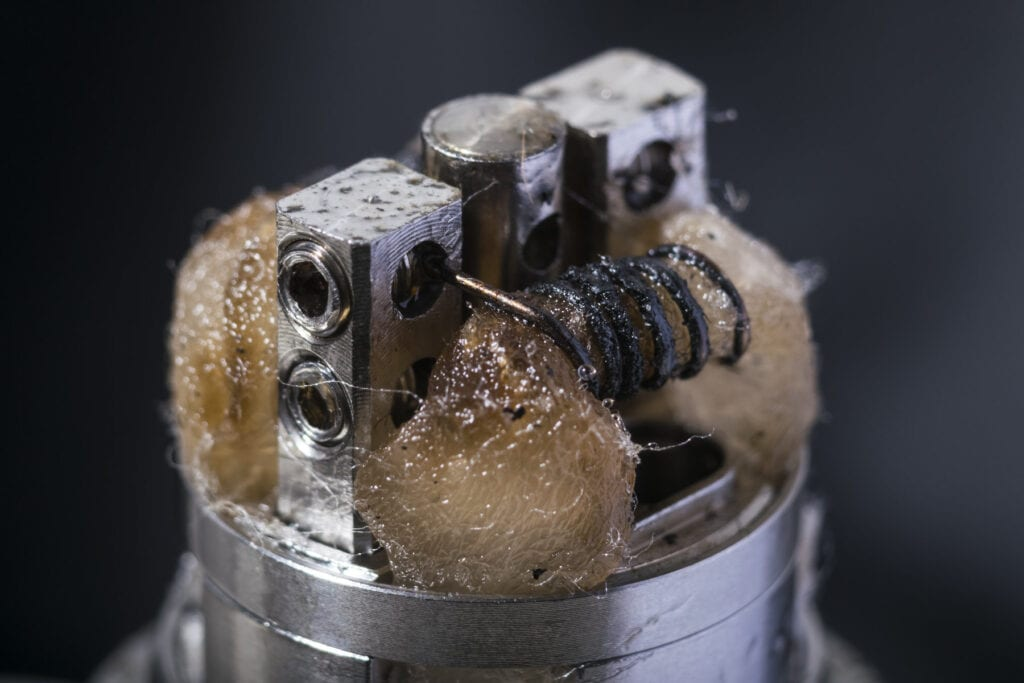 Burned Wicks Ruin Vape Coils